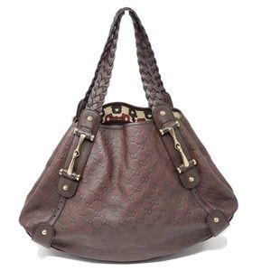 100% Auth Gucci Guccissima Leather Tote Bag